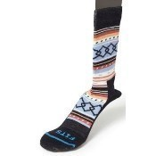 Women's Casual (Aztec) Crew Socks - Navy Thumbnail