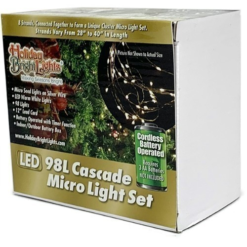 Cascade Micro Light Set - Warm White Thumbnail