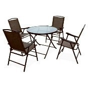 WES 5pc Chair and Table Set Thumbnail