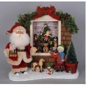 Karen Didion - Lighted Toy Window Santa Thumbnail