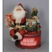 Karen Didion - Lighted Toy Chest Santa Thumbnail