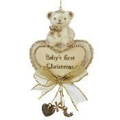 Baby's First Christmas Bear Ornament Thumbnail